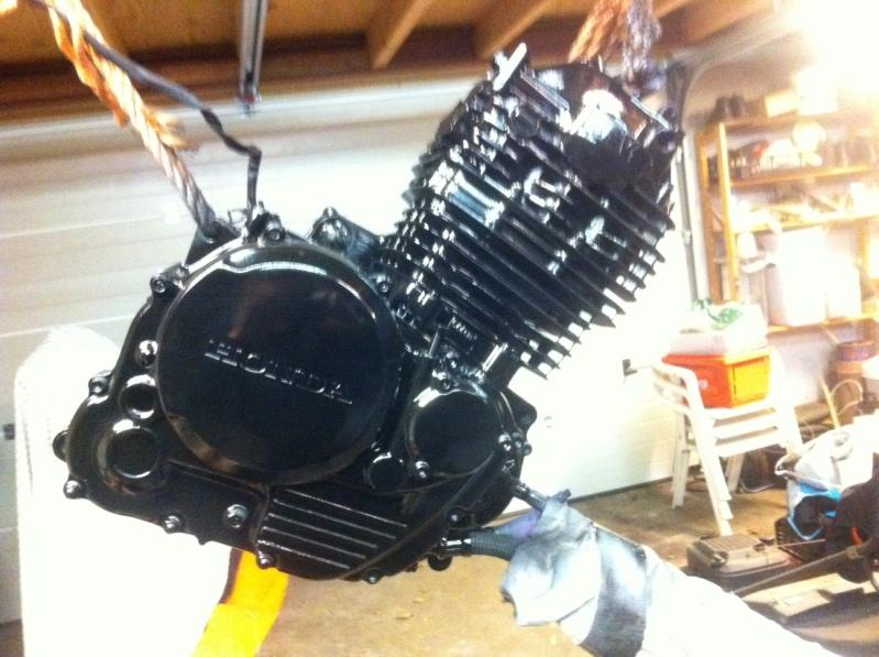 Honda Cafe Racer Engine Done