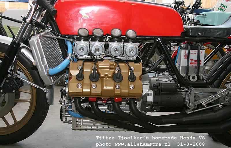 Honda Cafe Racer V8 by Tjitze Tjoelkers 2