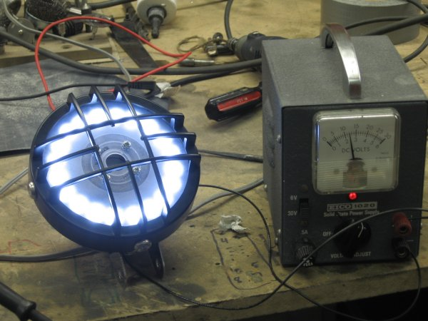How To Make a LED Headlight for Cafe Racers 9