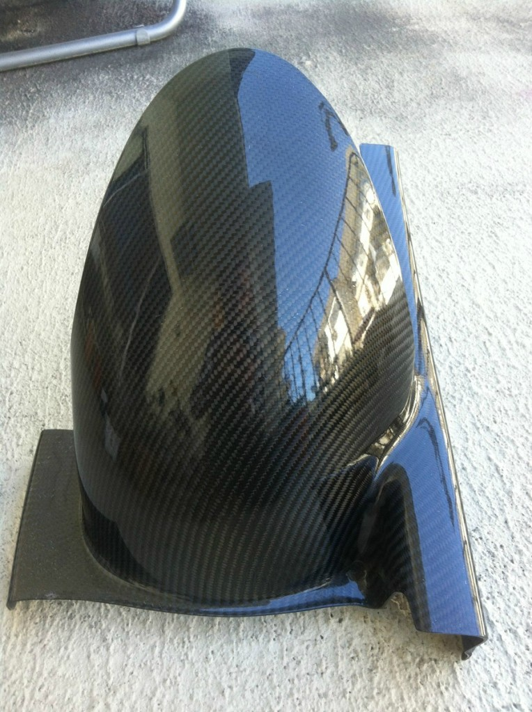 How To Wrap Parts in Carbon Fiber 18