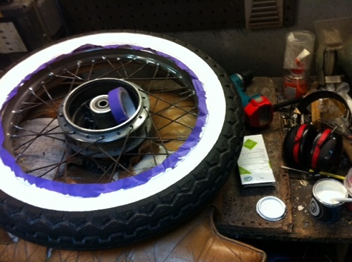 How to make white wall tires 2