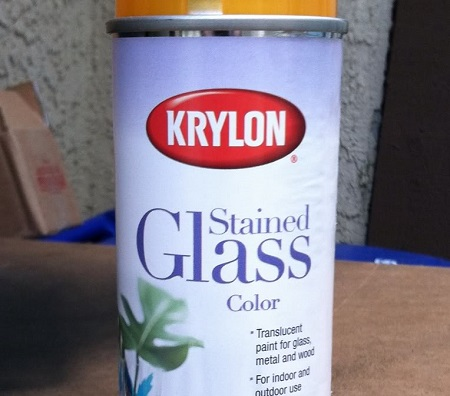 Krylon Stained Glass Paint Color Yellow