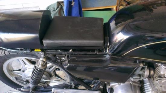 Metal Cafe Racer Seat 5