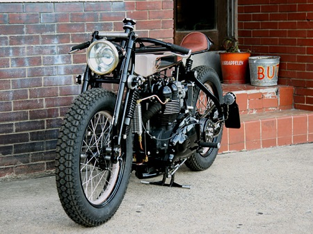 Triumph TT Deluxe Cafe Racer by LC Fabrications 1