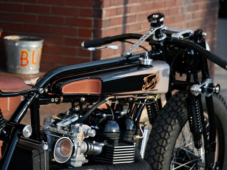Triumph TT Deluxe Cafe Racer by LC Fabrications 4