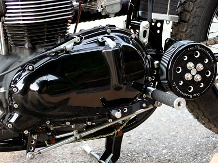 Triumph TT Deluxe Cafe Racer by LC Fabrications 6