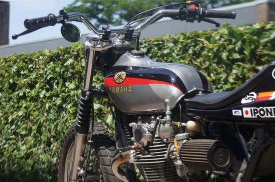Yamaha XS650 Tracker 4