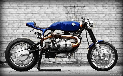 bmw cafe racer exhaust