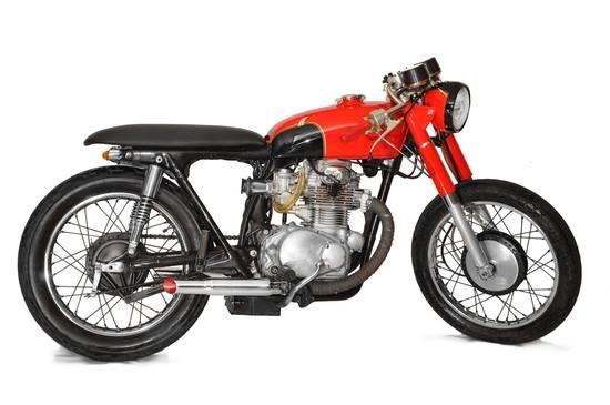 Honda CB350 Cafe Racer 4