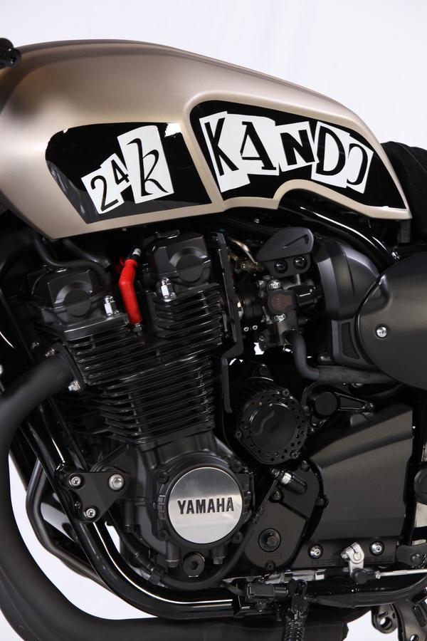 Yamaha XJR1300 Cafe Racer 2