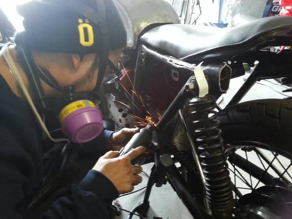 Honda CB550 Cafe Racer 5